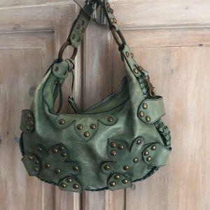 Isabella Fiore Hobo Handbag Purse